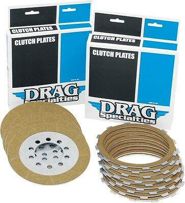 Drag Specialties Kevlar Friction Clutch Plate Kit (9 Plates) for Big Twin 98-14