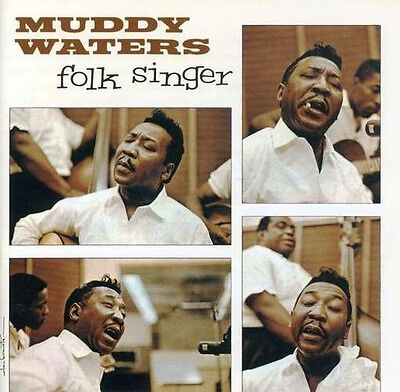 Muddy Waters Folk Singer 2x 45 rpm Vinyl LP (1483-45)