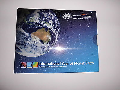 Australien  KMS  2008  -- Year of Planet Earth  -- 5 Cents - 2 Dollars