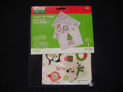 Christmas letter to santa kit pack of 2 350 picclick uk creatology letter to santa christmas 20 piece kit makes 1 letter spiritdancerdesigns Images