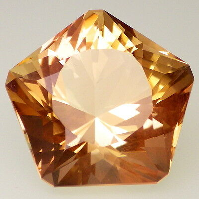 IMPERIAL SUNSTONE-OREGON 19.28Ct FLAWLESS-HUGE RARE JEWELRY / TOP INVESTMENT GDE