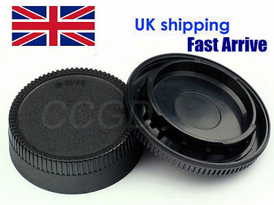 Body + Rear Lens Cap for Nikon D7100 D7000 D600 D610 D5100 D3300 D80 D3200 D90
