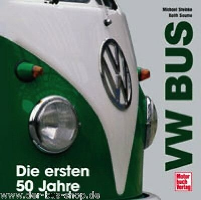 VW Bus Buch - T1, T2, T3 & T4 - Hardcover - 50 Jahre