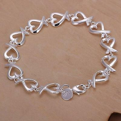 silver Fashion cute nice women Cross Lady Bracelet wedding hot Jewelry H177