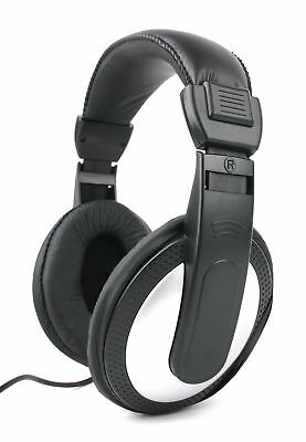 Premium Quality Over-Ear Headphones with XXL 6m Cable /& Gold-Plated Plug