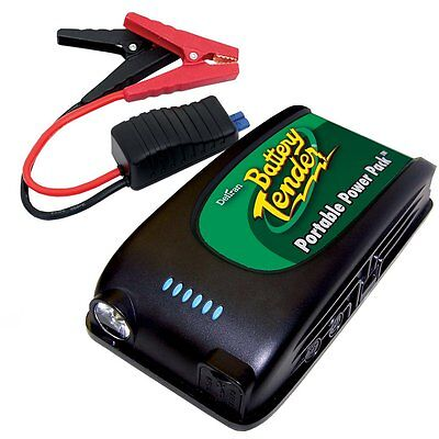 Battery Tender Portable Power Pack 12V Jump Starter with USB Charger Universal