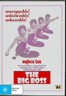 THE BIG BOSS (Bruce Lee) DVD BRAND NEW SEALED