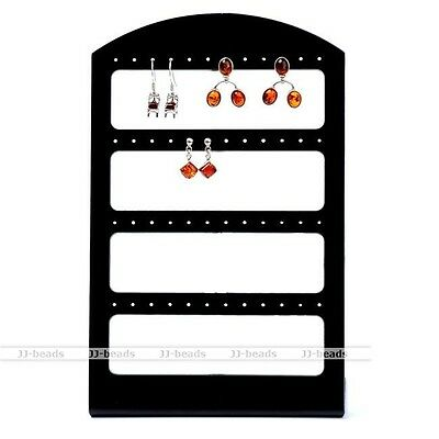 1pc Display Rack Stand Holder Organizer For 48 Hole 24 Pair Earring Stud Jewelry
