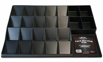 3 Card Sorting & Organizing Trays - Sport - Gaming - Trading - YU-GI-OH! - MTG