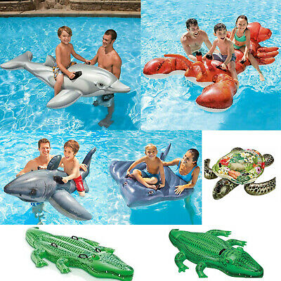 Inflatable Ride On Swimming Pool Beach Toy Float  Rider Lilo
