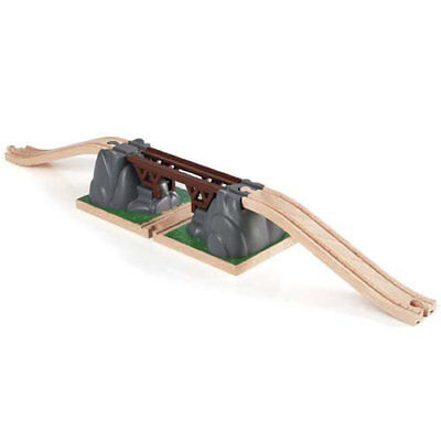 BRIO 33391 Collapsing Bridge for Wooden Train Set