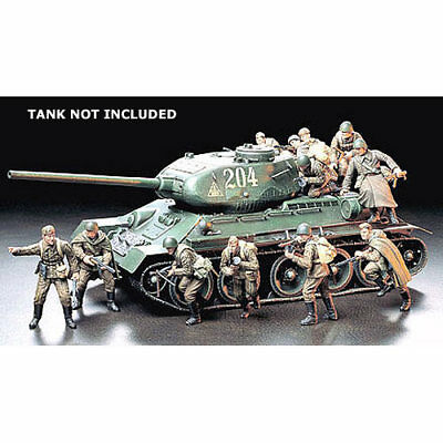 TAMIYA 35207 Russian Army Assault Infantry 1:35 Military Model Kit