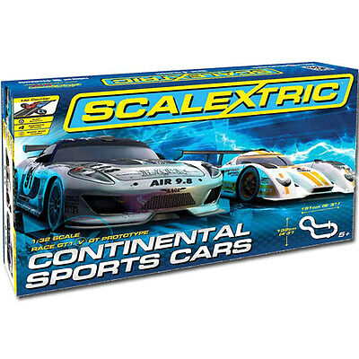 SCALEXTRIC Set C1319 Continental Sports Cars