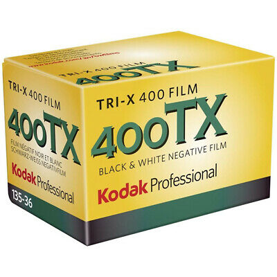 Kodak Professional Tri-X 400ASA 35mm Black and White Print Film 135-36 Exposure