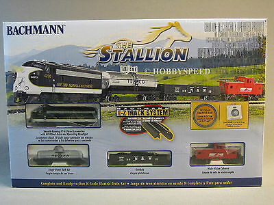 BACHMANN N SCALE THE STALLION NORFOLK SOUTHERN SET train diesel freight ns 24025