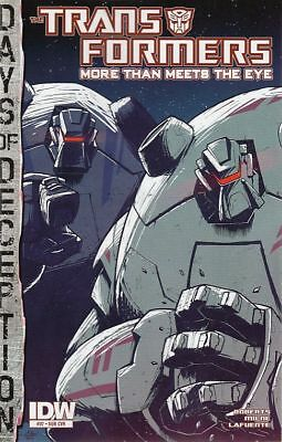 Transformers: More Than Meets The Eye #37 Sub Cvr (Idw)