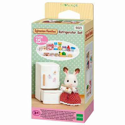 SYLVANIAN Families Refrigerator Set Dolls Furniture 5021