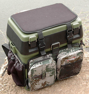 New Sea Fishing Seat Box Rucksack Converter
