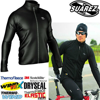 Suarez of Colombia Technology Packed Winter Cycling Jacket- CLEARANCE was £119