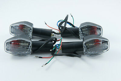 Front and rear indicators complete set of four suitable for Honda CBR125 2004