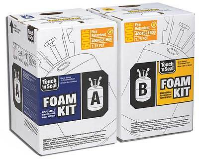 Touch 'n Seal U2-600 Fire Retardant Closed Foam Spray Foam Insulation Kit 600BF