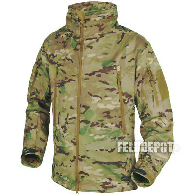 Helikon Tex Gunfighter Shark Skin Soft Shell Jacke Camogrom Outdoor