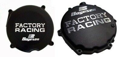 Boyesen Clutch & Ignition Black Cover For Kawasaki KX 250 05-07 SC-12AB CC-12CB