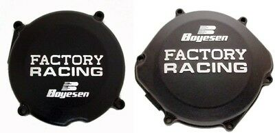 Boyesen Clutch & Ignition Black Cover For Honda CR 250 R 87-01 SC-02B CC-02B