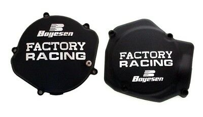Boyesen Clutch & Ignition Black Cover For Honda CR 125 2000-2007 SC-01AB CC-01AB