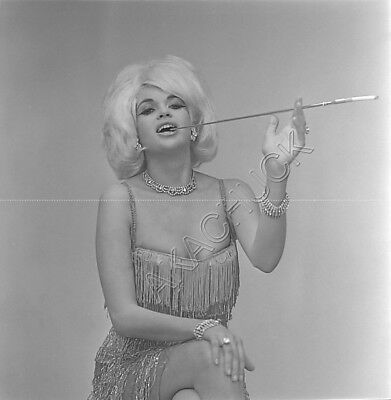 JAYNE MANSFIELD 3 Rare Photo Negatives 1964 GENTLEMEN PREFER BLONDES Hendrickson