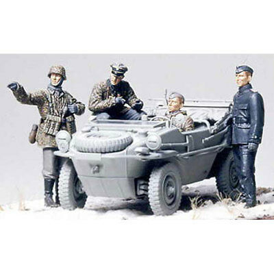 TAMIYA 35253 4 Recon figures for Schwimwagon 1:35 Military Model Kit