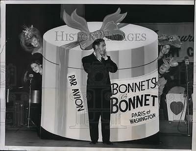 1950 Press Photo The American Heart Fund benefit show