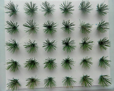 Detachable Grass Bushes ~ Scenery For Model Rail Ho Scale And Wargames, New