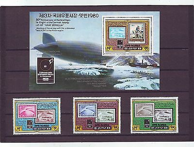 KOREA - SGN2016-MS2019 MNH 1980 3rd INTERNATIONAL STAMP FAIR