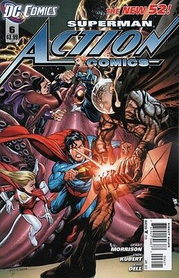 Action Comics Vol. 2 (2011-2016) #6 (Rags Morales Variant)