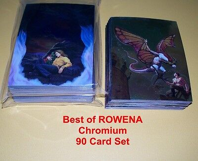 Best of Rowena CHROMIUM  Complete Base Card Set