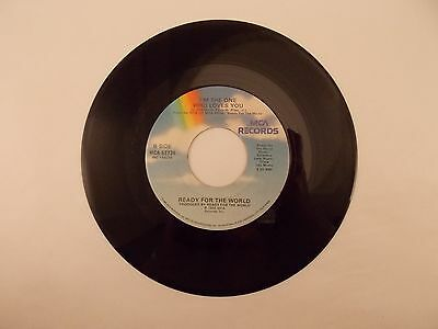 READY FOR THE WORLD * OH SHELIA & I'M THE ONE WHO LOVES YOU * 45 RPM