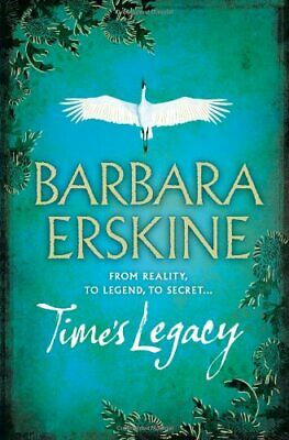 Time's Legacy, Erskine, Barbara Paperback Book The Cheap Fast Free Post
