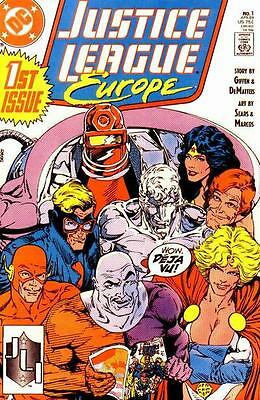 Justice League Europe/International (1989-1994) #1