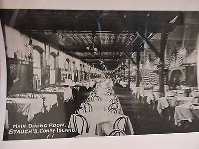 OLD CONEY ISLAND, BROOKLYN NYC 8x10 Reprint Photo Main Dining Room Stauch's