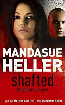 Shafted, Heller, Mandasue Paperback Book The Cheap Fast Free Post