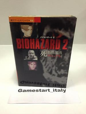 Biohazard 2 - Strategy Guide Jap Version Book - Guida Strategica Resident Evil