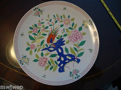 Herend RARE pattern Wall Plate SONG Pattern HUGE SIZE