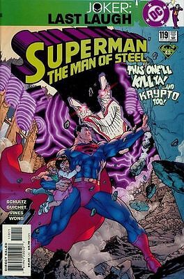 SUPERMAN THE Man Of Steel Comic Collection Issues 1 15