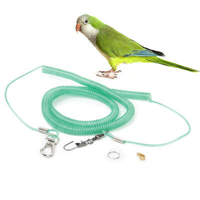 Random Parrot Bird Leash Kits Anti-bite Flying Training Rope for Cockatiel