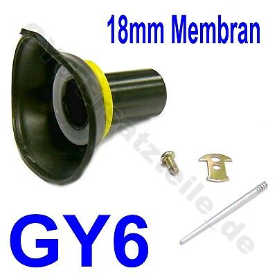VERGASER MEMBRAN 18mm GY6 139QMB 139QMA CHINA ROLLER SCOOTER MOPED BUGGY ATV