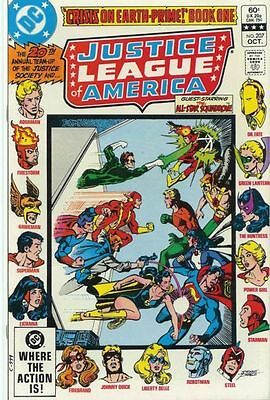 Justice League Of America #207 Vol.1 Vf