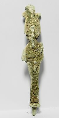 Zurqieh - Ancient Egyptian Bronze Statue Of Osiris, 600 - 300 B.c
