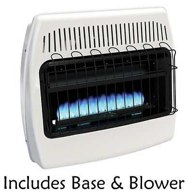 Superior B20DTB 20,000 BTU Dual Fuel Vent Free Blue Flame Heater with Blower