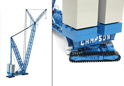 CCM - Lampson LTL-2600 Mobile Heavy Lift Crane. Brass. 1:87th. NIB Discontinued